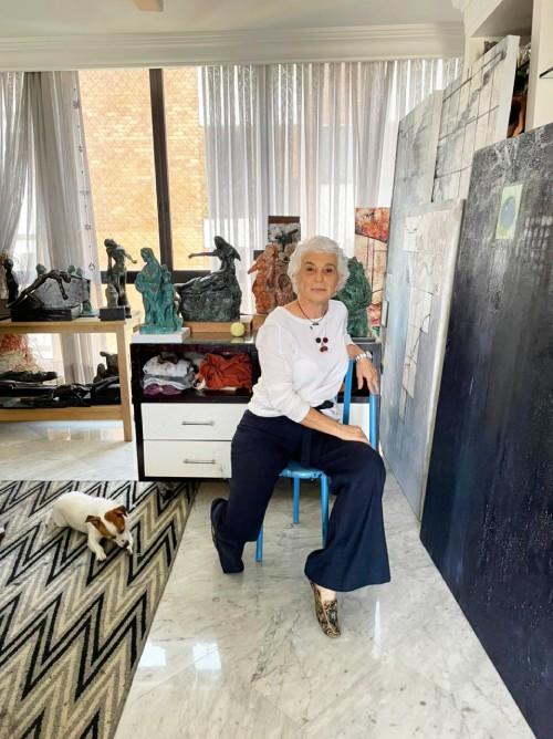 Para Ilka Lemos, a arte salva em momentos tão difíceis da vida