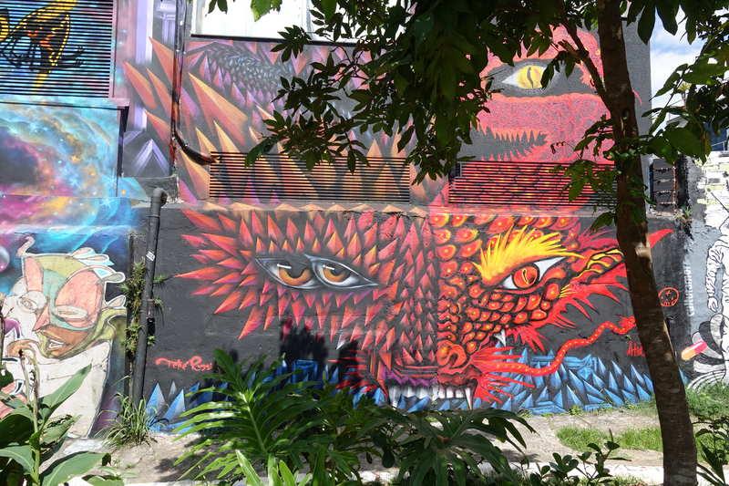 Beco do Batman: museu de arte urbana a céu aberto