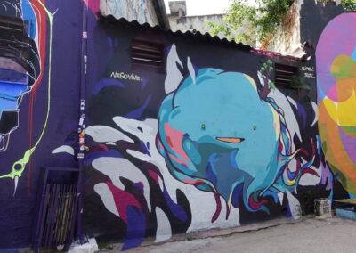 graffiti no Beco do Batman