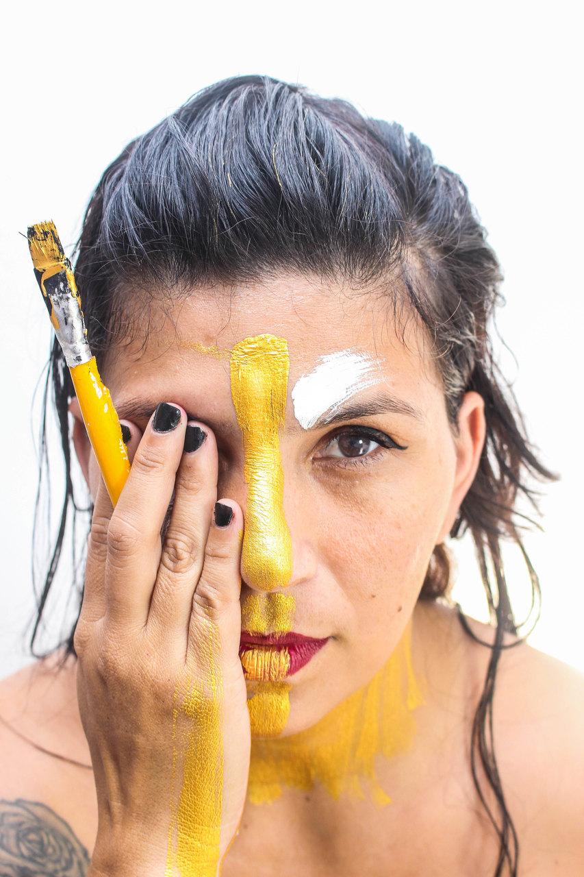 Chermie Ferreira, artista plástica