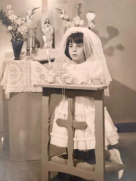 Ilka Lemos na infância