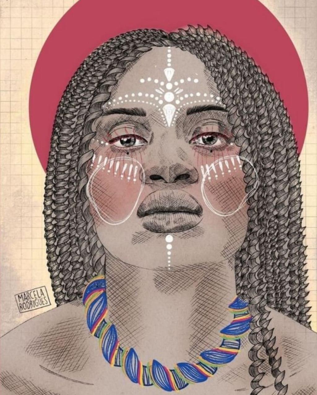 Criação da artista digital Marcela Rodrigues